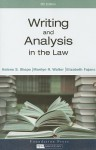 Writing and Analysis in the Law - Helene S. Shapo, Marilyn R. Walter