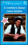 A Cowboy's Honor - Laura Gordon
