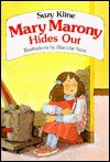 Mary Marony Hides Out - Suzy Kline, Blanche Sims