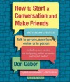 How To Start A Conversation And Make Friends: Revised and Updated (Audio) - Don Gabor