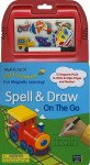 Spell & Draw on the Go [With 12 Magnets and Marker] - Nancy Gayle Carlson