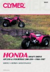 Honda Atc250 and Fourtrax 200/250, 1984-1986: Service, Repair, Maintenance - Ed Scott, Alan Harold Ahlstrand