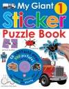 My Giant Sticker Puzzle Book 1 (w/o CD) - Roger Priddy