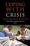 Coping with Crisis - Nancy Bermeo, Jonas Pontusson