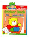 Tiny The Mouse Sticker Book For 3-Year Olds - Balloon Books
