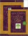 The Purpose Driven Life Curriculum Pack: A Six-Session Video-Based Study for Groups or Individuals (Purpose Driven Life, The) - Rick Warren
