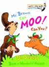 Mr. Brown Can Moo! Can You? (Bright & Early Books) - Dr. Seuss
