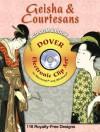 Geisha and Courtesans CD-ROM and Book - Alan Weller