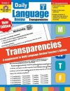 Daily Language Review Transparencies, Grade 2 - Evan-Moor Educational Publishers