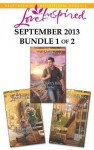 Love Inspired September 2013 - Bundle 1 of 2: The Boss's BrideNorth Country HeroA Canyon Springs Courtship - Brenda Minton, Lois Richer, Glynna Kaye