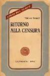 Ritorno alla censura - Vitaliano Brancati