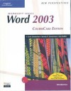 New Perspectives On Microsoft Office Word 2003, Introductory, Course Card Edition - Beverly B. Zimmerman, Ann Shaffer