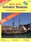 Official Arrow Greater Boston Street Atlas: Featuring 48 Communities - Arrow Map Inc