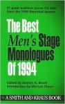 The Best Men's Stage Monologues of 1994 - Jocelyn A. Beard, Michael Bigelow Dixon