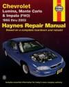 Haynes Chevrolet Lumina,Monte Carlo & Impala (FWD) 1995-2003 - Jeff Kibler