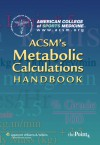 ACSM's Metabolic Calculations Handbook - American College of Sports Medicine