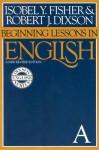 Beginning Lessons in English - Robert J. Dixson