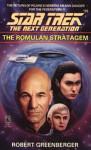 Star Trek: The Next Generation The Romulan Stratagem - Robert Greenberger