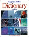 Houghton Mifflin Student Dictionary - Dictionary