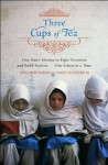 (THREE CUPS OF TEA) ONE MAN'S MISSION TO PROMOTE PEACE...ONE SCHOOL AT A TIME BY MORTENSON, GREG[AUTHOR]Hardcover{Three Cups of Tea: One Man's Mission to Promote Peace...One School at a Time} on 2006 - Greg Mortenson