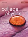 College Physics: A Strategic Approach Volume 1 (CHS.1-16) - Randall D. Knight, Brian Jones, Stuart Field