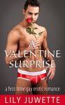 A Valentine Surprise: A First-Time Gay Erotic Romance - Lily Juwette
