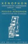 Constitution des Lacédémoniens/Agésilas/Hiéron - Xenophon, Vincent Azoulay, Michel Casevitz