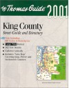 King County Street Guide And Directory: 2001 - Thomas Brothers Maps