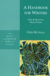 A Handbook for Writers: New & Selected Prose Poems - Vern Rutsala