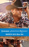 Harlequin American Romance March 2015 Box Set: Her Rodeo ManThe Doctor's CowboyThe Baby BonanzaA Texan for Hire - Cathy McDavid, Trish Milburn, Jacqueline Diamond, Amanda Renee