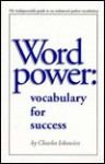 Word Power: Vocabulary for Success - Charles Ickowicz