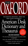The Oxford Desk Dictionary and Thesaurus - Oxford University Press, Berkley Publishing Group