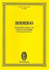 Rodrigo Fantasia Para Un Gentilhombre: For Guitar and Orchestra - Joaquin Rodrigo