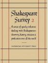 Shakespeare Survey 2: Shakespearian Production - Allardyce Nicoll