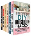 Household Hacks Box Set (6 in 1): Most Helpful, Quick, Easy and Cheap Decorating, Prepping, Cleaning, Storing Hacks and Beauty Products to Turn Your Everyday ... Routine into Fun (Cleaning and Organizing) - Ronda Powell, Erica Snow, Parker Harris, Abby Chester, Valerie Orr, Vanessa Riley
