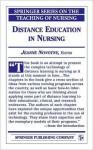 Distance Education in Nursing - Jeanne M. Novotny