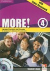 More! Level 4 Student's Book with Interactive CD-ROM with Cyber Homework - Herbert Puchta, Jeff Stranks, Christian Holzmann, Peter Lewis-Jones