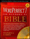 Wordperfect 7 For Windows 95 Bible - Stephen E. Harris