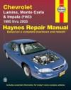 Chevrolet Lumina, Monte Carlo & Impala (FWD) 1995 thru 2005 - Jeff Kibler, John Haynes, Ken Freund