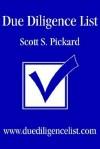 Due Diligence List: WWW.Duediligencelist.com - Scott S. Pickard