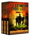 The Extinction Cycle Series Box Set: Books 1-3 - Nicholas Sansbury Smith, Aaron Sikes