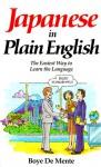 Japanese in Plain English - Boyé Lafayette de Mente