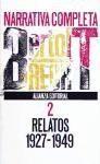 Narrativa Completa 2: Relatos 1927-1949 - Bertolt Brecht, Juan Jose Del Solar