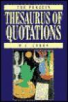The Penquin Thesaurus of Quotations - Manuela Cohen, M.J. Cohen, J.M. Cohen