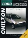 Ford Escape & Mazda Tribute: 2001 through 2003 (Chilton's Total Car Care Repair Manuals) - Mike Stubblefield