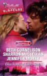 Blackout at Christmas: Stranded With The BridesmaidSanta Under CoverKiss Me On Christmas (Silhouette Romantic Suspense) - Beth Cornelison, Sharron McClellan, Jennifer Morey