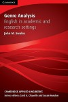 Genre Analysis: English in Academic and Research Settings - John M. Swales