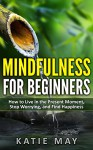 Mindfulness for Beginners: How to Live in the Present Moment, Stop Worrying, and Find Happiness - Katie May