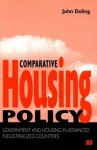 Comparative Housing Policy: Government and Housing in Advanced Industrialized Countries - John Doling