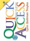 Quick Access Updates With 2001 Apa Guidelines (3rd Edition) - Lynn Quitman Troyka